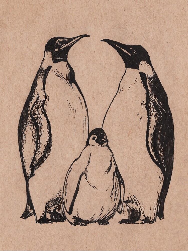 Penguins by Olszakmike