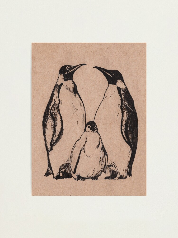 Alternate view of Penguins Photographic Print