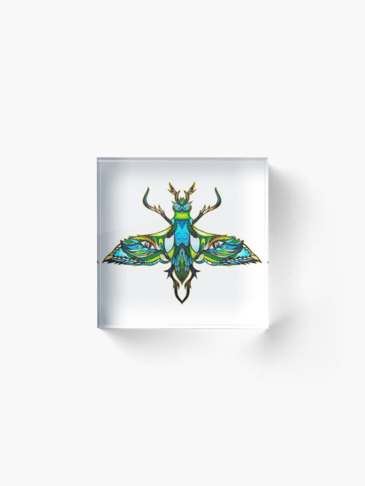 Alternate view of Dragonfly Acrylic Block