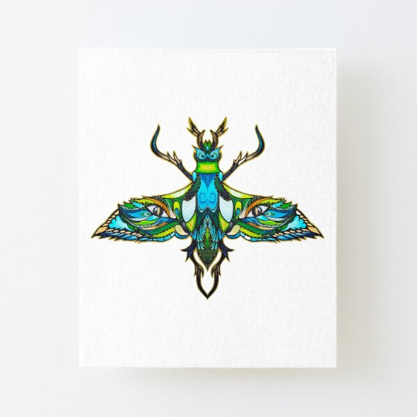 Dragonfly Canvas Mounted Print