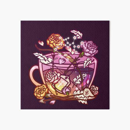 Sagittarius Zodiac Teacup Art Board Print