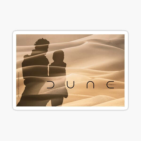 Dune 2020 shadow Sticker