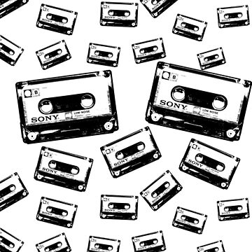 Cassette Dropping by PunnyTees