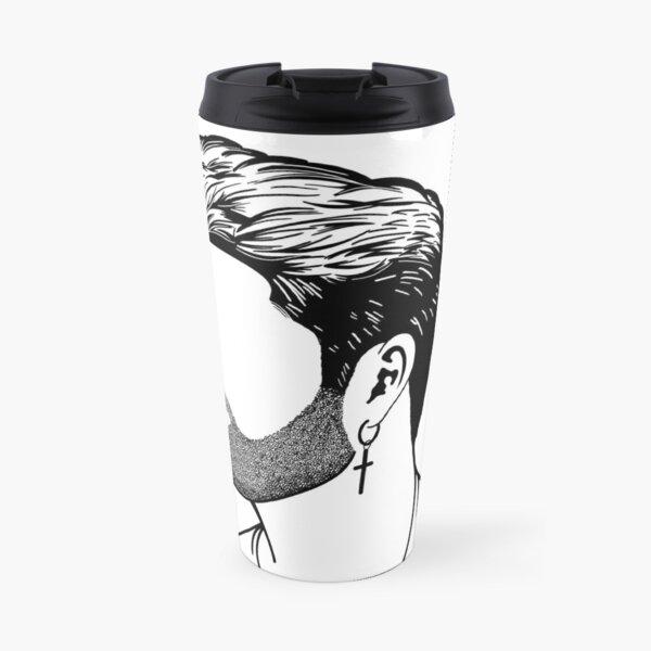 George Michael Profile  Travel Mug