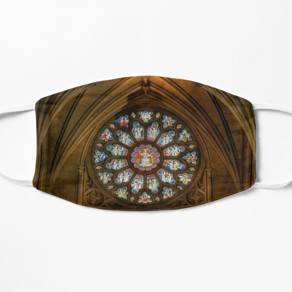 Cathedral Stained Glass Window Flat Mask
