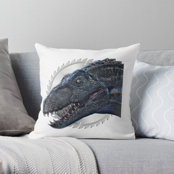 indoraptor Throw Pillow