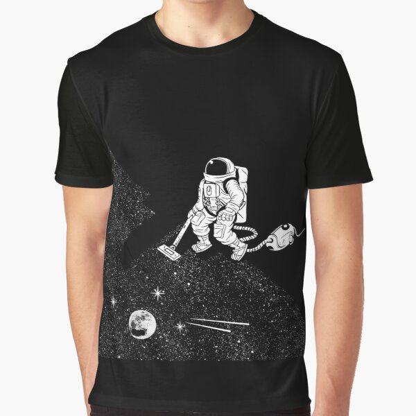 Space vacuum cleaner Graphic T-Shirt