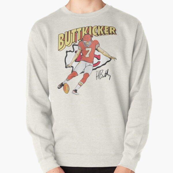 BUTT-KICKER-HARRISON-BUTKER Pullover Sweatshirt