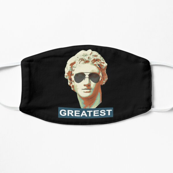 Alexander The Great(est) (black) Flat Mask