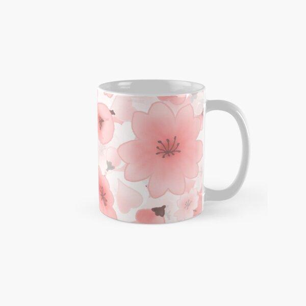 Sakura - Flores Rosadas Árbol del Cerezo Japonés Taza clásica