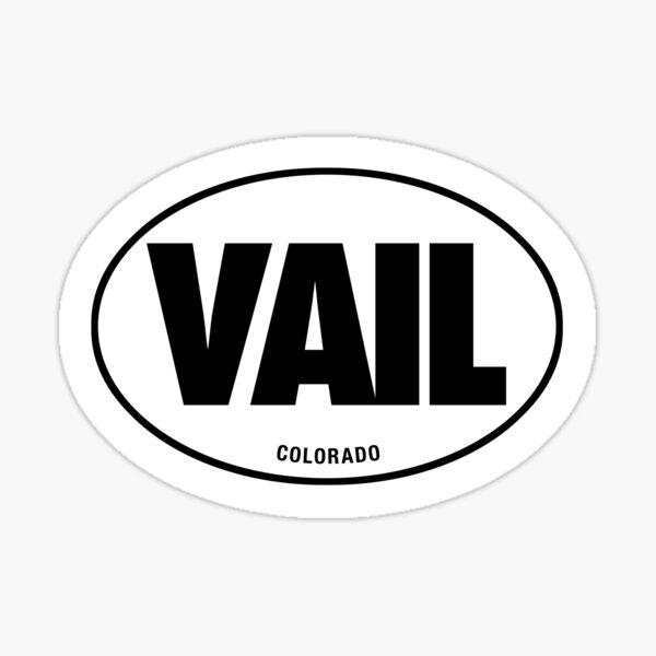 VAIL - EURO STICKER Sticker