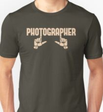 Photographer Fingers Unisex T-Shirt