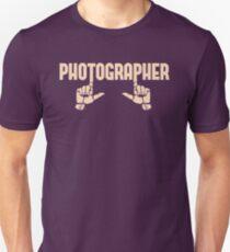 Photographer Fingers T-Shirt
