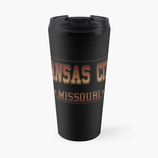 Kansas City Missouri football hockey baseball sports design Travel Mug