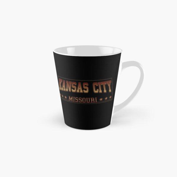 Kansas City Missouri football hockey baseball sports design Tall Mug