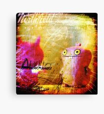 Plushes and monsters #2 Canvas Print