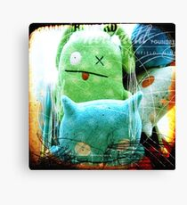 plushes and monsters #3 Canvas Print