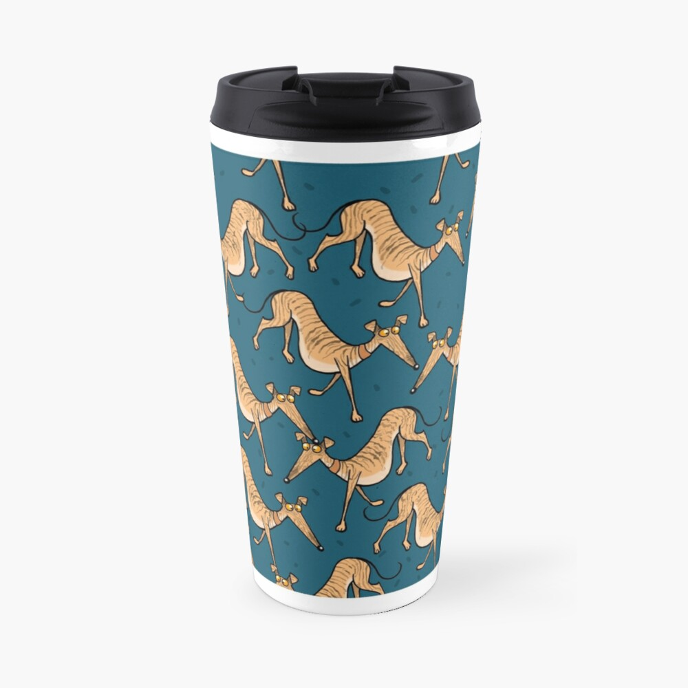 Brindle multi mug Travel Mug