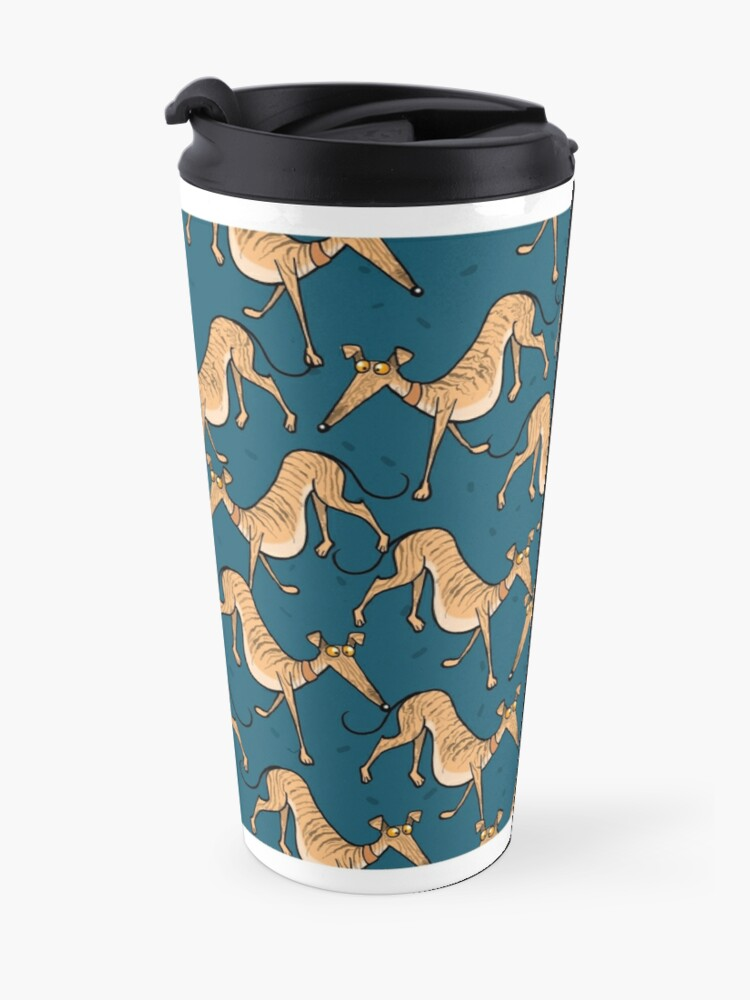 Alternate view of Brindle multi mug Travel Mug