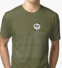 See who is eating from your pocket Tri-blend T-Shirt