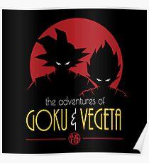 Adventures of Goku & Vegeta Poster