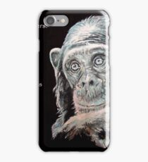 A Jane Goodall quote iPhone Case/Skin