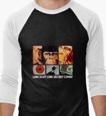 Lancelot Link: Secret Chimp Men's Baseball ¾ T-Shirt