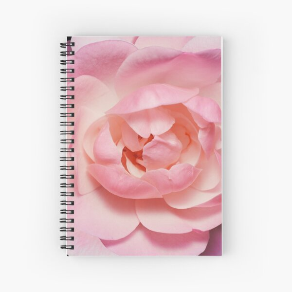 Wild garden rose flower photo Spiral Notebook