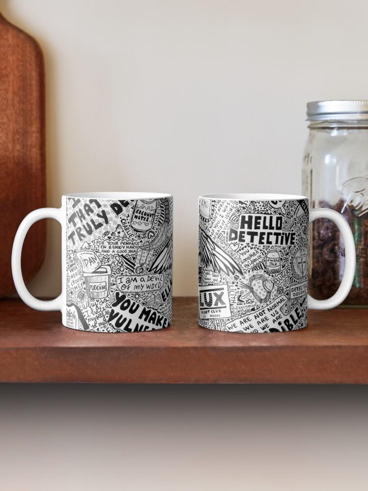 Alternate view of lucifer Mug
