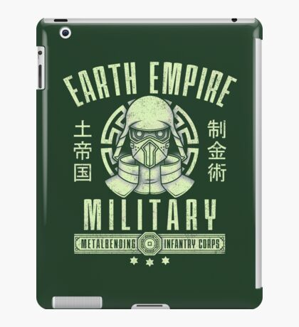Avatar Earth Empire iPad Case/Skin