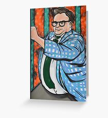 Chris Farley SNL Greeting Card
