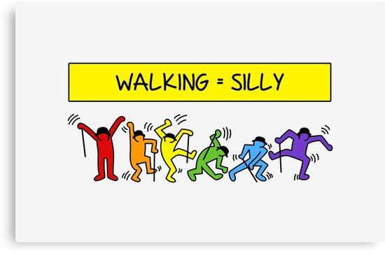 Pop Shop Silly Walks by trekvix