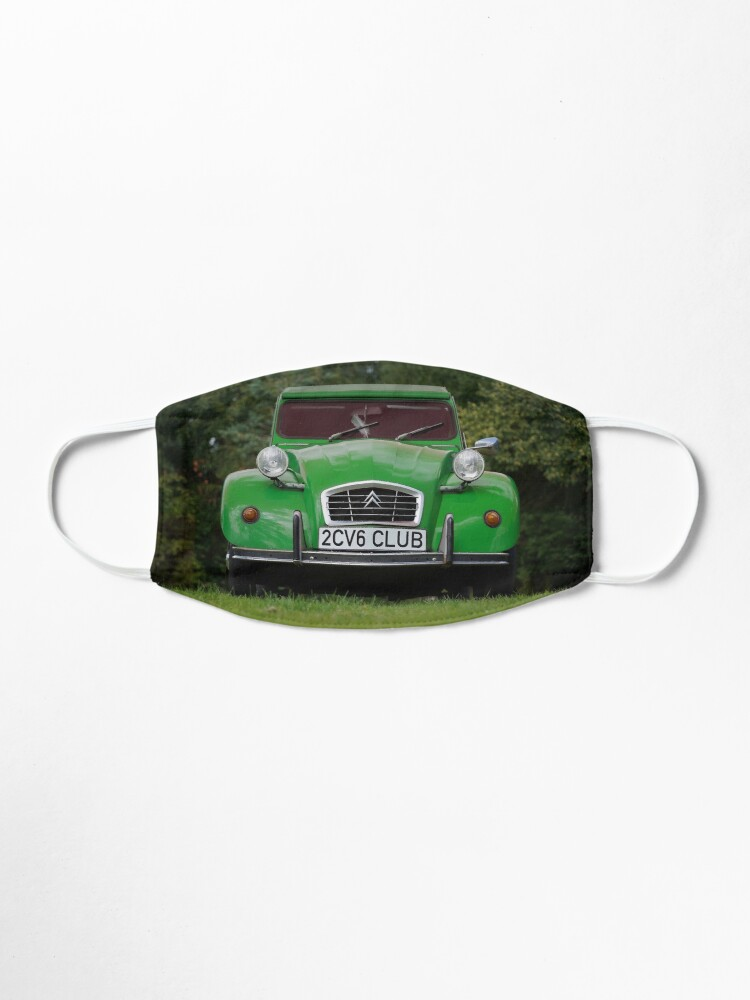Alternative Ansicht von 2CV6 Club Ente Deux Chevaux Sausssente grün Maske