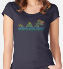 Electrical Women's Fitted Scoop T-Shirt