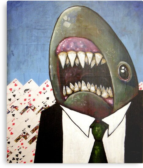 Card Shark by David Mueller