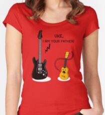Uke, ich bin dein Vater! Tailliertes Rundhals-Shirt