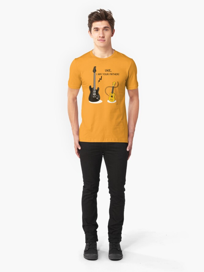 Alternate view of Uke, I am your Father! Slim Fit T-Shirt