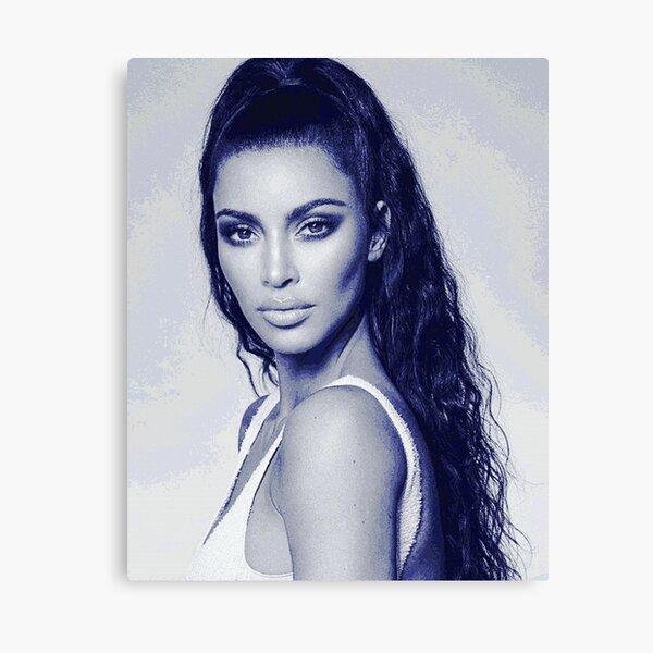 Art Print Poster Canvas Kim Kardashian