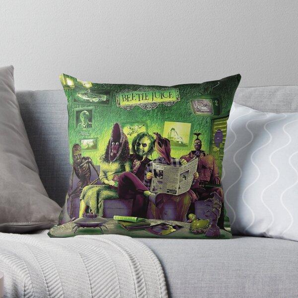 Beetlejuice (HD) Throw Pillow
