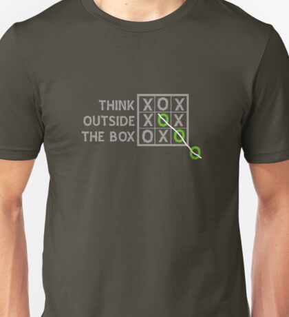 Think Outside the Box (White) T-Shirt