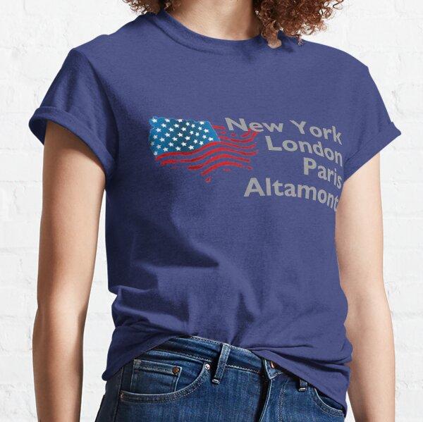 New York London Paris Altamont Classic T-Shirt