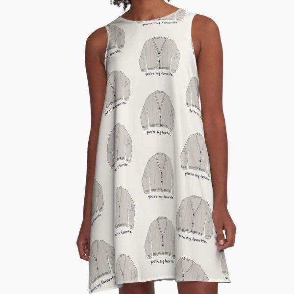Favorite Sweater A-Line Dress