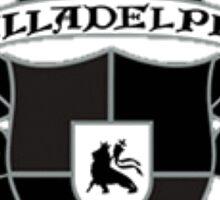 Illadelph Crest Sticker (Blacked Out) Sticker