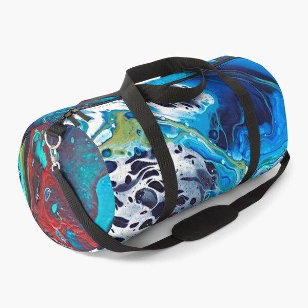 Acrylic pouring Duffle Bag
