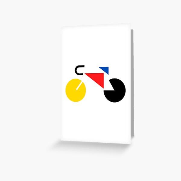 Bauhaus Bicycle Greeting Card