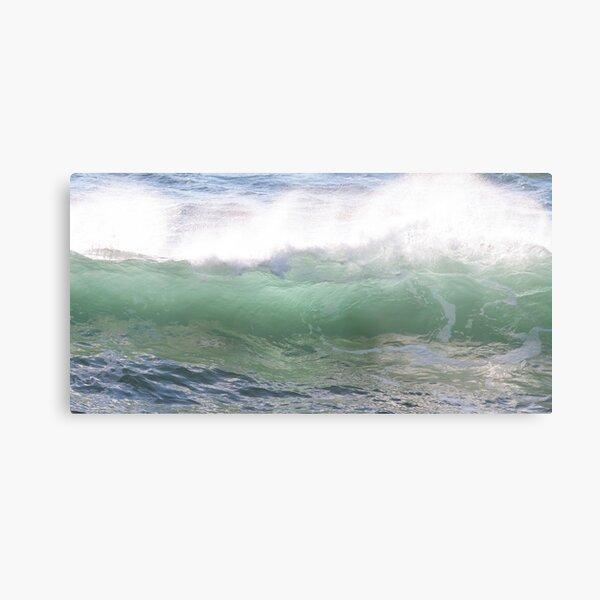 Sunlight through an Ocean Wave Metal Print
