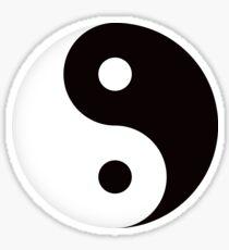 Yin yang symbol sticker Sticker