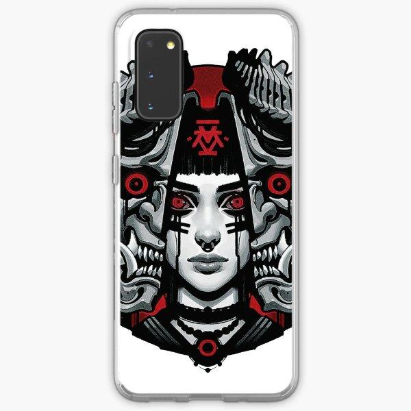 Vaporwave Japanese Cyberpunk Neon Samsung Galaxy Soft Case