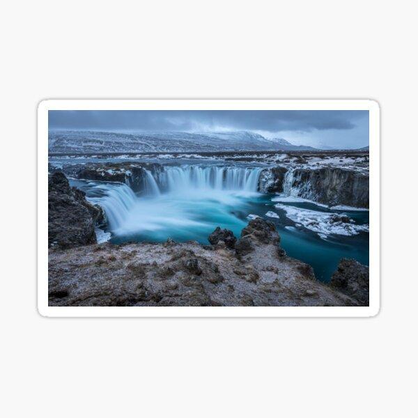Water Falls. Sticker
