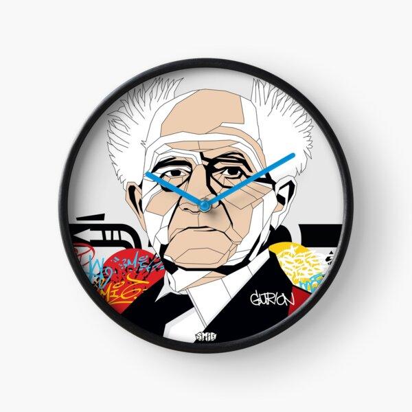 David Ben-Gurion - Pop Art Israeli leader gift Clock